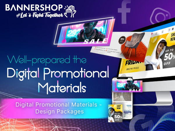 Web Banner Design Packages - Digital Promotional Materials